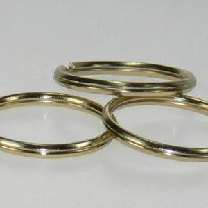 Split ring Brass 1 1/4in 100/bag