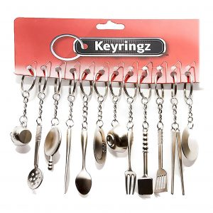 Kitchen Utensils Keyring