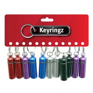 Pill Box Keyring