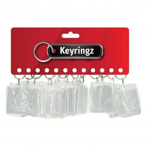 Acrylic Photo Holder Keyring