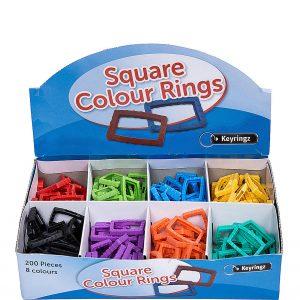 Square Colour Rings