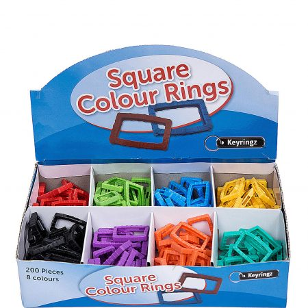 Square Colour Rings