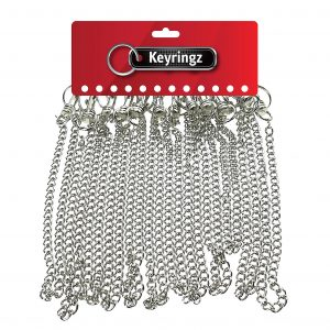 Hipster with Chain Keyring