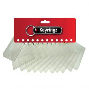 Swipe Card Holder Keyring