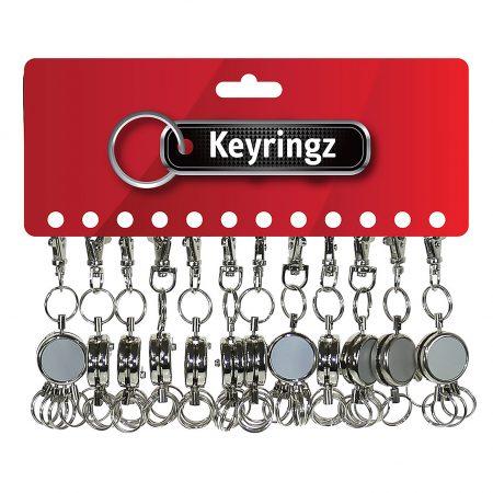 Metal Key Organiser Keyring