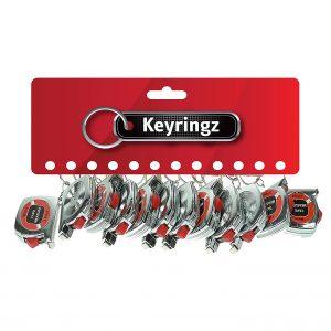 Tape Measure Keyring
