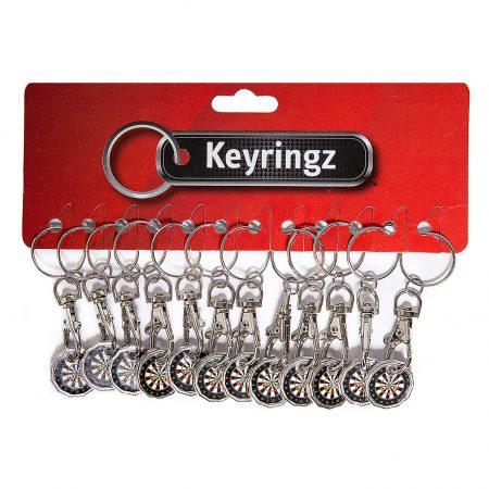Trolley Coin New Darts Keyring
