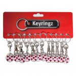 Trolley Coin New Hearts Keyring