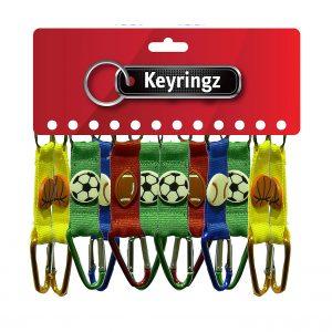Sports V-Clip Keyring