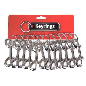 Double End Hipster With Ring Keyring
