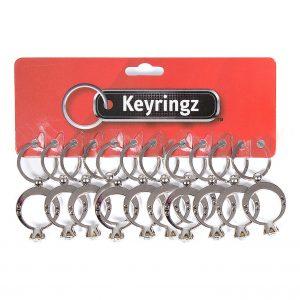 Diamond Ring Keyring
