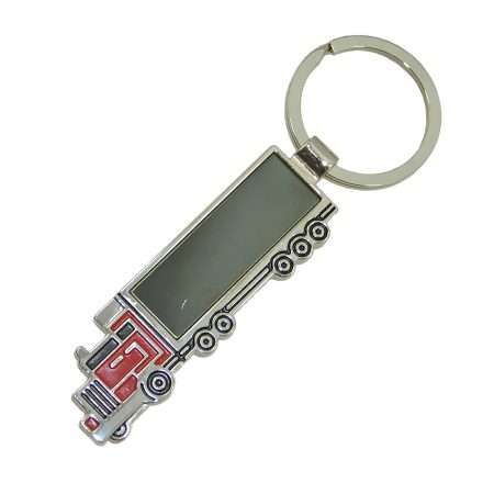 Lorry Engravable Keyring