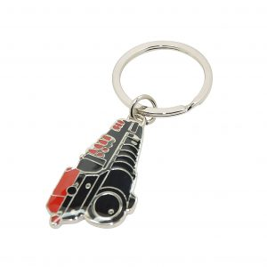 Train Engravable Keyring