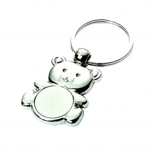 Teddy Engravable Keyring