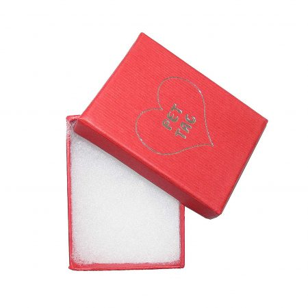 nLuxury pet tag box